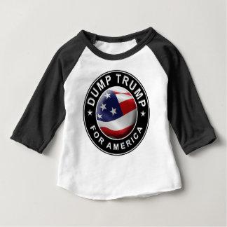 Official DumpTrumpforAmerica Logo Baby T-Shirt