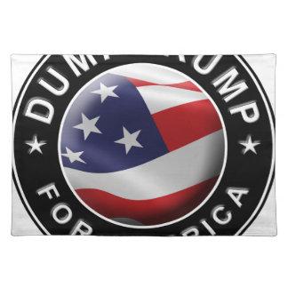Official DumpTrumpforAmerica Logo Placemat