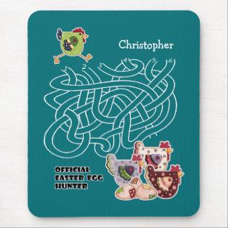 Official Easter Egg Hunter. Gift Mousepad for Kids
