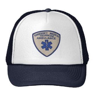 Official EMT Star of Life Cap Mesh Hats