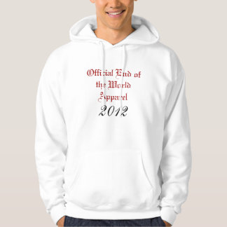 Official End of the World Apparel, 2012 Hoodie