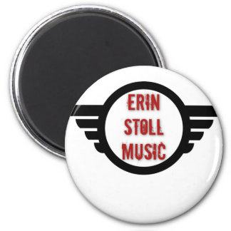 Official Erin Stoll Music Wings Gear 2 Inch Round Magnet