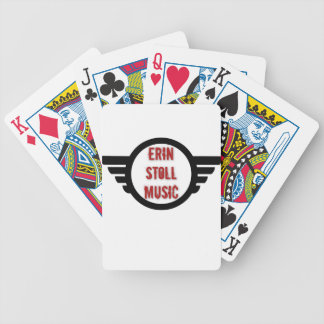 Official Erin Stoll Music Wings Gear Bicycle Playing Cards