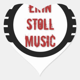 Official Erin Stoll Music Wings Gear Heart Sticker