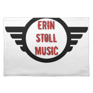 Official Erin Stoll Music Wings Gear Placemat
