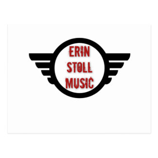 Official Erin Stoll Music Wings Gear Postcard