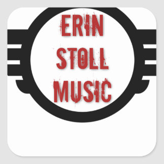 Official Erin Stoll Music Wings Gear Square Sticker
