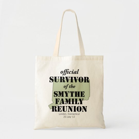 Official Family Reunion Survivor - Connecticut Tote Bag