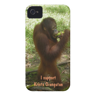Official Fan Club Krista Orangutan Case-Mate iPhone 4 Cases