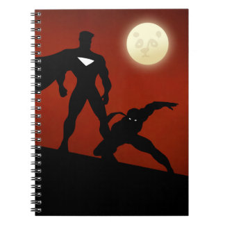 Official Fantastic Justice Squad lined notebook