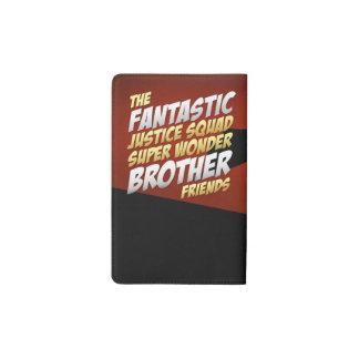 Official Fantastic Justice Squad moleskin notebook