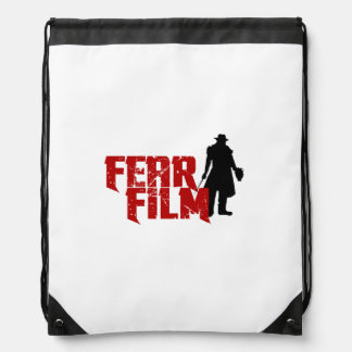 Official FEAR FILM Drawstring Backpack