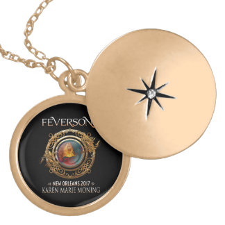Official Feversong 2017 Gold Locket