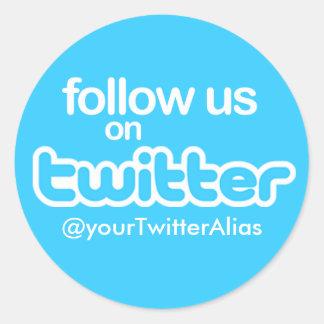 "Official ""Follow Us on Twitter"" Sticker"