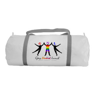 Official GayNakedLunch (GNL) Custom Duffle Gym Bag
