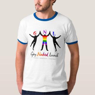 Official GayNakedLunch (GNL) Ringer T-Shirt
