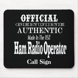 Official Genuine Made USA Ham Radio Mouse Pad