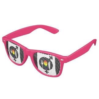 Official GNL Super Logo Retro-Party Shades Sunglasses