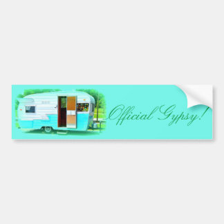 Official Gypsy! Caravan trailer caravan Bumper Sticker