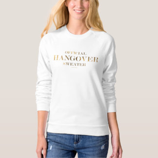 Official Hangover Sweater Gold