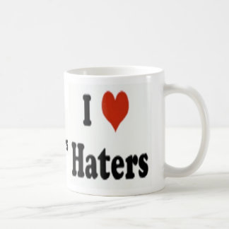 """Official """"I love Haters"""" Coffee Mug"""