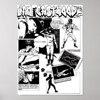 Official Ian Eastwood Comic Art print
