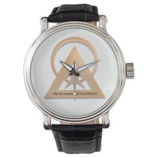 official illuminati gear wrist watch