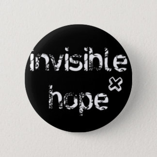 Official Invisible Hope Merch 2 Inch Round Button