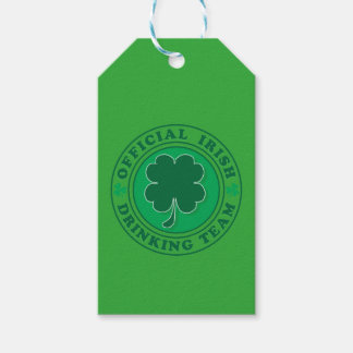 Official-Iris-Drinking-Team Gift Tags