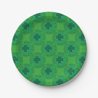 Official-Iris-Drinking-Team Paper Plate