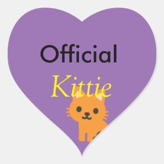 Official kittie sticker