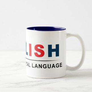 Official Language Two-Tone Coffee Mug