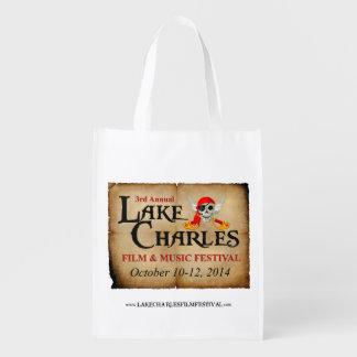 Official LC Film & Music Festival Bag Grocery Bag