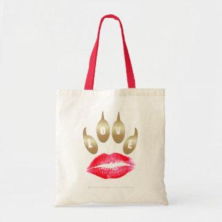 Official Lipstick-Pawprint Boogie Bag