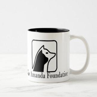 Official Logo for The Amanda Foundation Coffee Mug