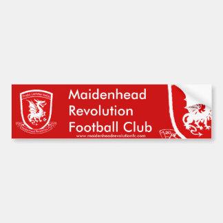 Official Maidenhead Revolution FC Bumper Sticker