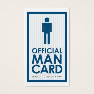 Official Man Card