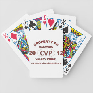 Official merchandise for Catawba Valley Pride 2012 Bicycle Playing Cards