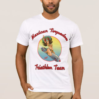 OFFICIAL: Mexican Torpedoes Triathlon Team shirt! T-Shirt