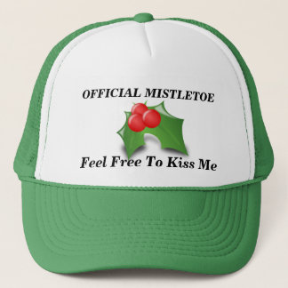 Official Mistletoe Trucker Hat