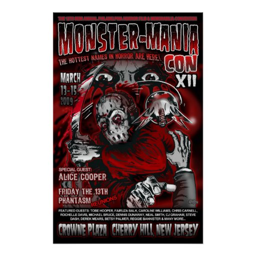 Official Monster-Mania 12 Print