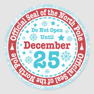Official North Pole Seal Christmas