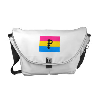 OFFICIAL PANSEXUAL PRIDE FLAG COURIER BAGS
