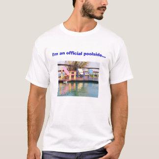 Official Poolside Book Reader T-Shirt