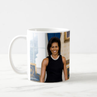 Official Portrait of First Lady Michelle Obama Coffee Mug