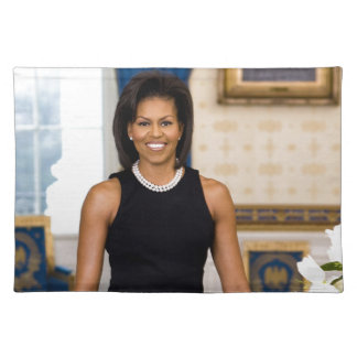Official Portrait of First Lady Michelle Obama Placemat