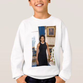Official Portrait of First Lady Michelle Obama Sweatshirt