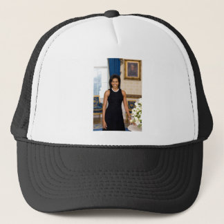 Official Portrait of First Lady Michelle Obama Trucker Hat
