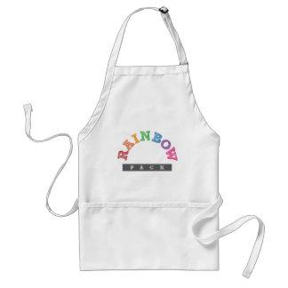 Official Rainbow Pack Merchandise Standard Apron