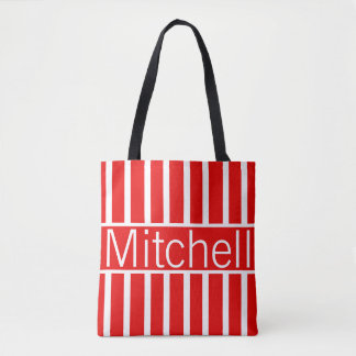 Official Red NGL Personalized Tote Bag